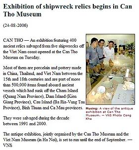 Viet Nam News, 24 August 2006