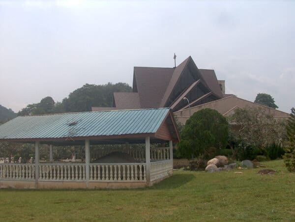 St Anne's Church and the Cherok Tok Kun inscription