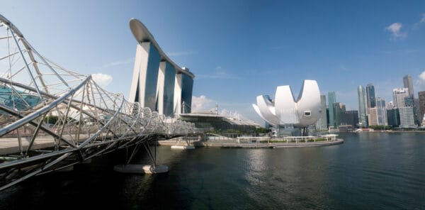 The ArtScience Museum in Singapore