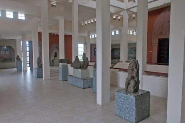 Champa sculpture at the Museum of Sa Huynh and Champa Culture