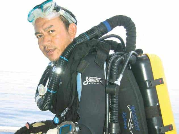 Erbprem Vatcharangkul, Director of Underwater Archaeology at the Fine Arts Department. The Nation, 20120213