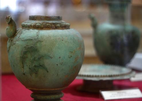 Champa bronzes, 4-5th century CE. Vietnam Net 20121117