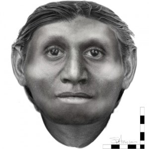 Reconstruction of Homo floresiensis, Susan Hayes, University of Wollongong