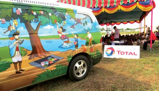 Sipar Mobile Library. Source: Phnom Penh Post, 20140523