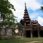 Bagaya Monastery. Source: The Irrawady 20140612