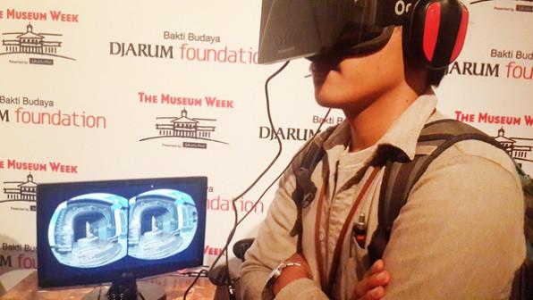 Virtual Reality using Oculus Rift. Source: Jakarta Post 20140516