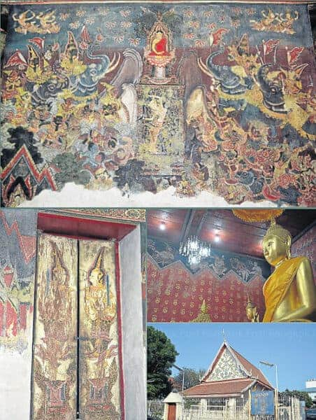 Wat Chaiyathit, an early Ayutthaya-period temple in Bangkok. Source: Bangkok Post 20140731