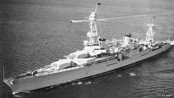 USS Houston. Source: US Navy, via BBC 20140819