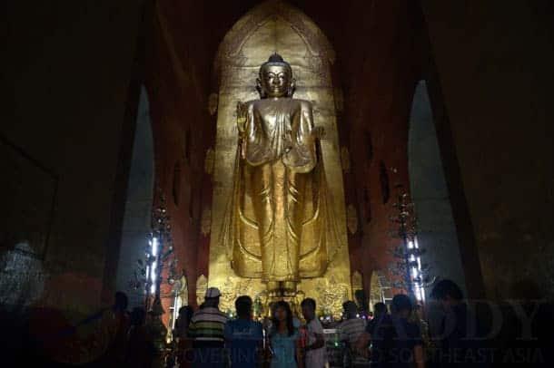Ananda Temple, Bagan. Source: The Irrawady, 20140930