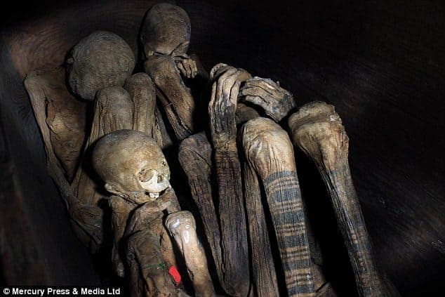 Mummies of Ibaloi. Source: Daily Mail 20150121