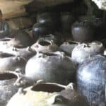 Burial jars in the Cardamom Mountains. Source: Phnom Penh Post 20150112
