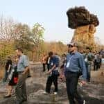 Phu Phra Bat visit. Source: The Nation 20150302