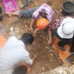 Excavations at Ha Tinh province. Source: Viet Nam News 20150423