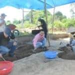 Excavation at the Khue Bac communal house in Da Nang. Viet Nam News 20150601