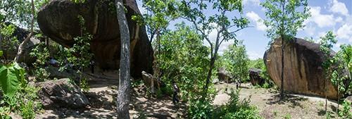 Gabardi Rock Art Site, Shan State, Myanmar