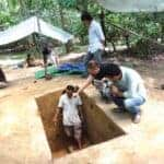 Angkor Wat excavation. Source : Phnom Penh Post 20150627