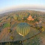 Balloons over Bagan. Source: TTR Weekly 20150626