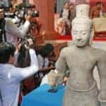 Artefacts returned to Cambodia. Source: Phnom Penh Post 20151021