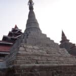 Monuments in Mrauk-U improperly restored. Source: The Irrawaddy 20160224