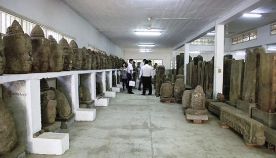 South Korea provides aid to Cambodia to restore artefacts