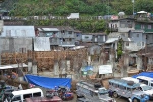 Alarm raised over carpark construction in the Banaue terraces