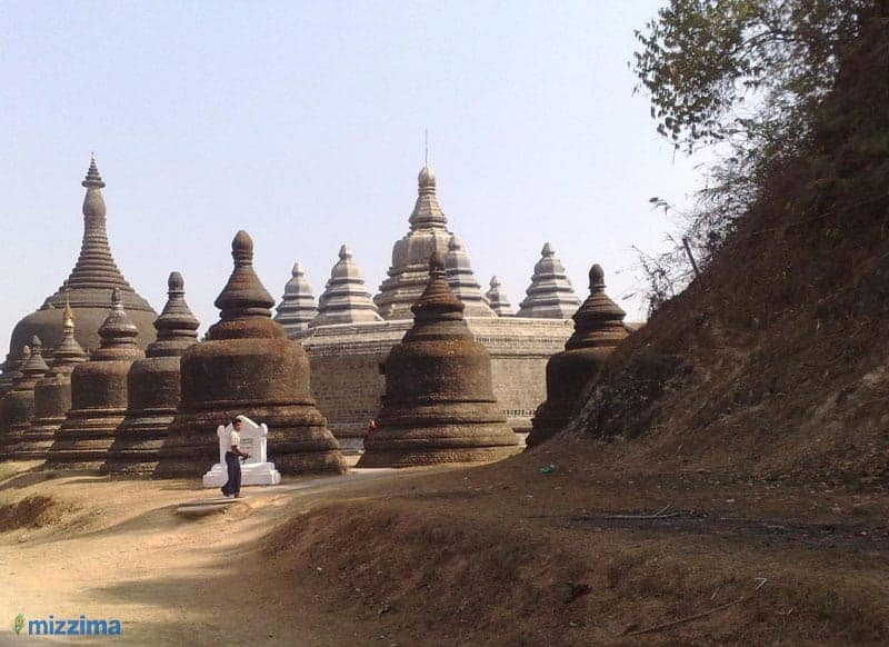 Arrests made for illegal earth removal at Mrauk-U