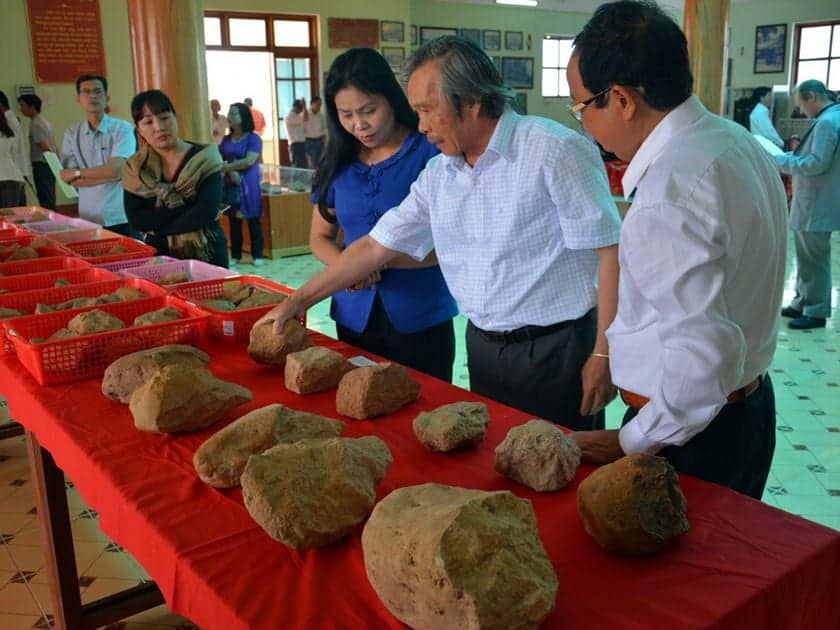 Hominid stone tools found in Vietnamese central highlands