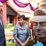 Returned Brahma head from Koh Ker. Source: Phnom Penh Post 20160331
