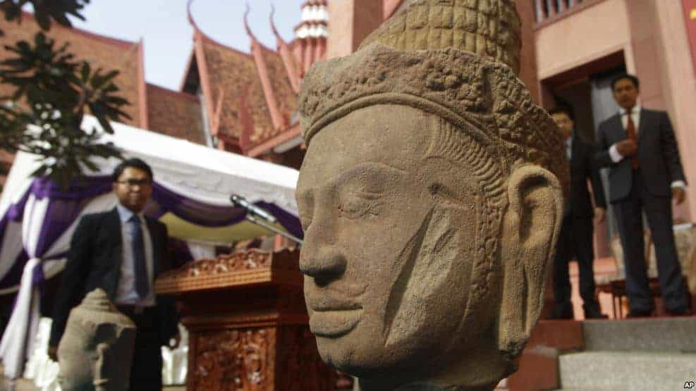 Repatriation of artefacts spark interest in Cambodians