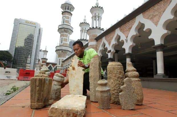 200-year-old gravestones found in Kuala Lumpur