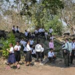 Students learning at Banteay Chhmar. Source: Cambodia Daily 20160713