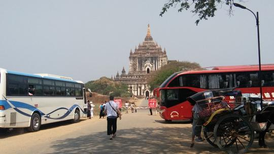 Bagan temples: 224 to finish repairs before Thingyan, and 50 more after