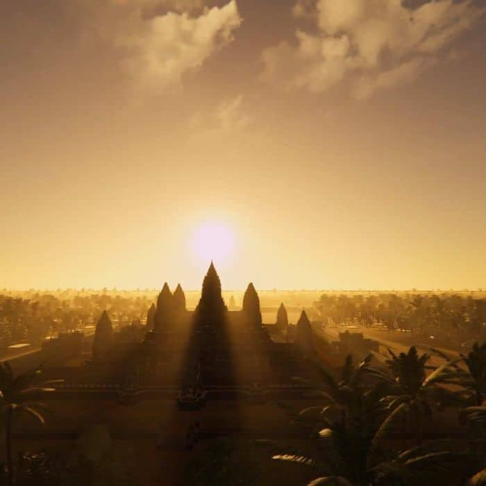 Soon you will be able to immerse yourself in a digital re-creation of Angkor