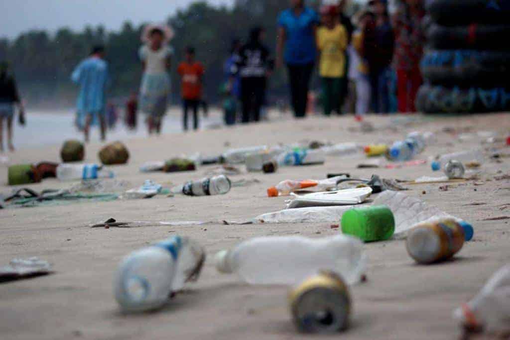 At Myanmar's tourist spots, a growing litter problem
