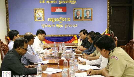 Apsara, government discuss demolition of homes