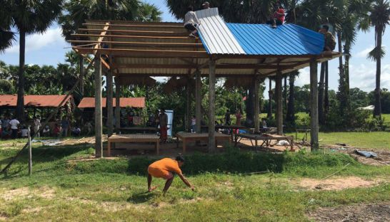 'Illegal' Angkor homes dismantled in Siem Reap