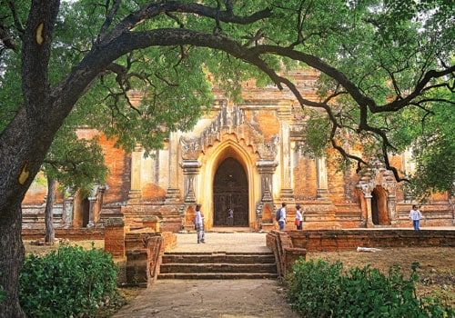 Authorities race to save more mural paintings in Bagan before heavy rains
