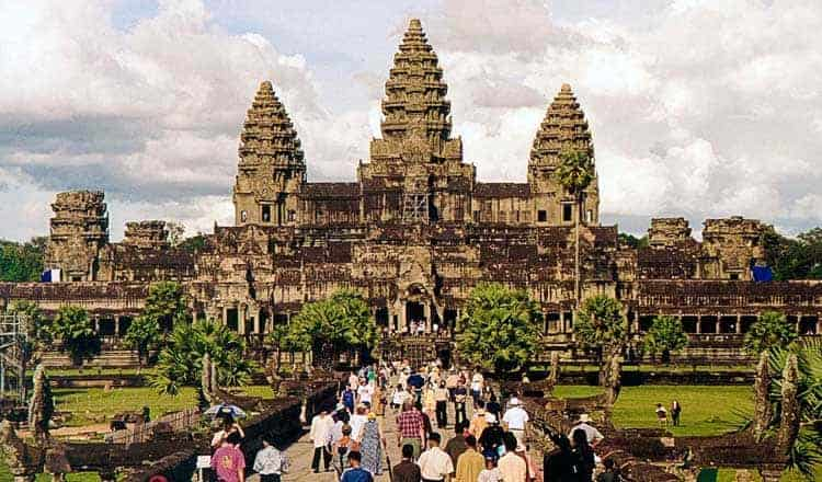 Tickets to Angkor Wat can now be paid using Visa