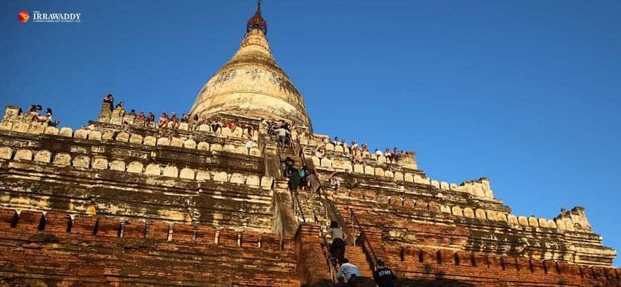 Popular Bagan Pagoda Closes After Terrace Collapse