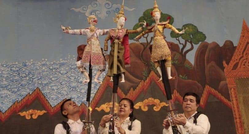 150-year-old royal puppet tradition revived for late King's cremation