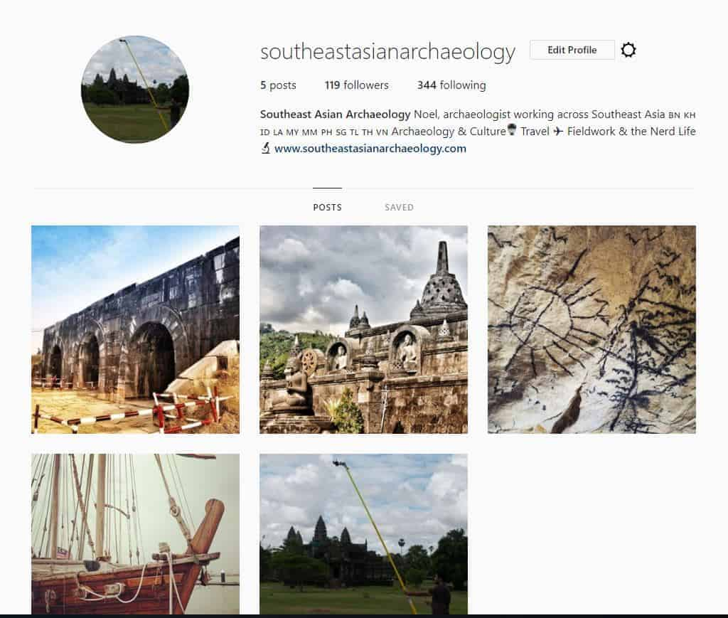 Follow me on Instagram – @southeastasianarchaeology