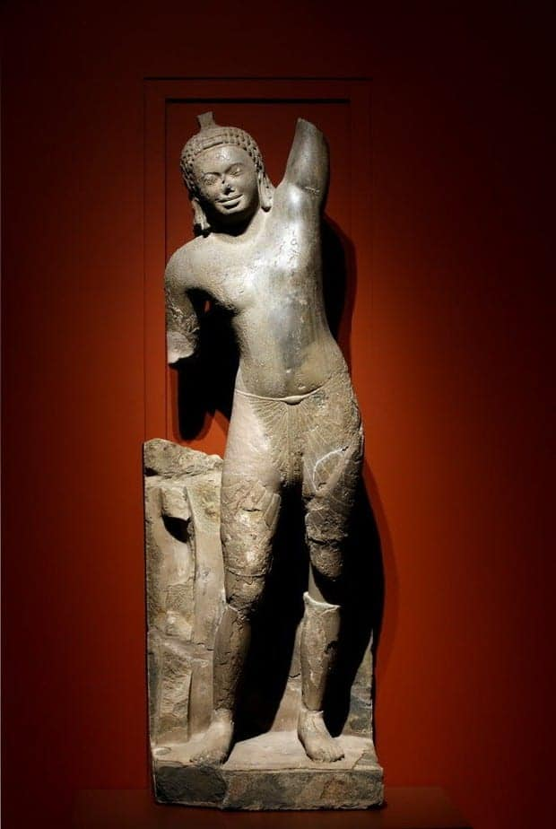 Cleveland Museum of Art embarks on radical reconstruction of Cambodian Krishna statue