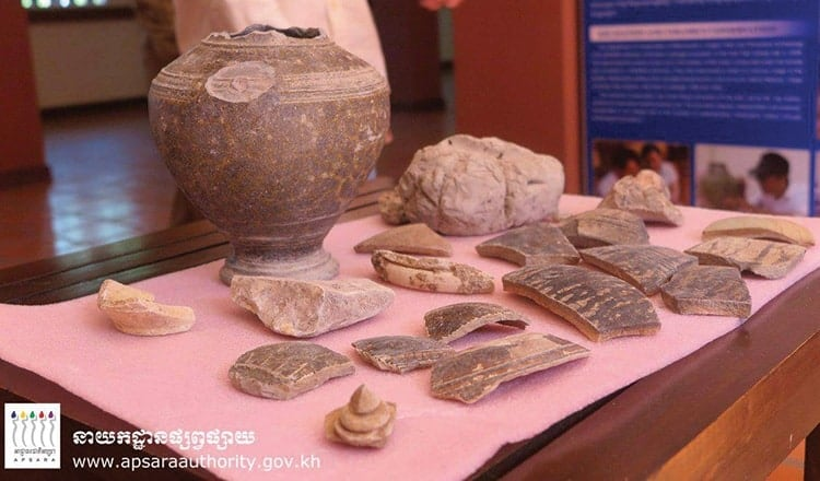Artefacts given to Apsara Authority