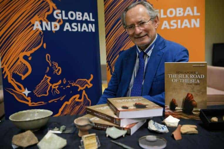 Archaeologist wins inaugural Singapore history prize