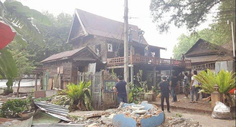 Mahakan Fort community loses 'landmark' House 99