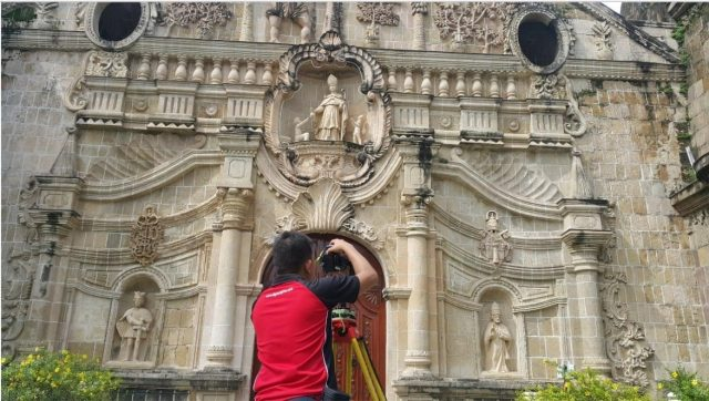 Filipino specialists in 3D laser scanning take a swipe at preserving UNESCO World Heritage Sites