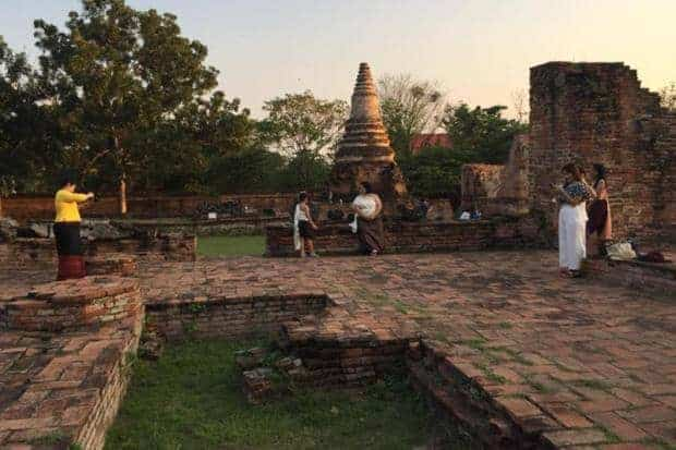 Hit TV series brings tourists and traffic to Ayutthaya