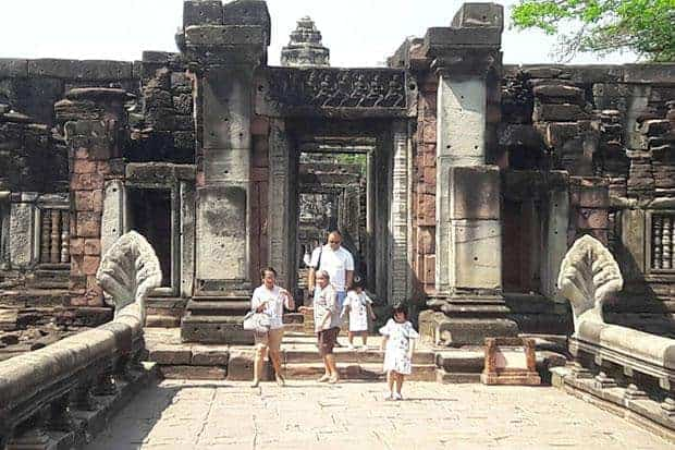 Tourists still flock to Phimai Historical Park