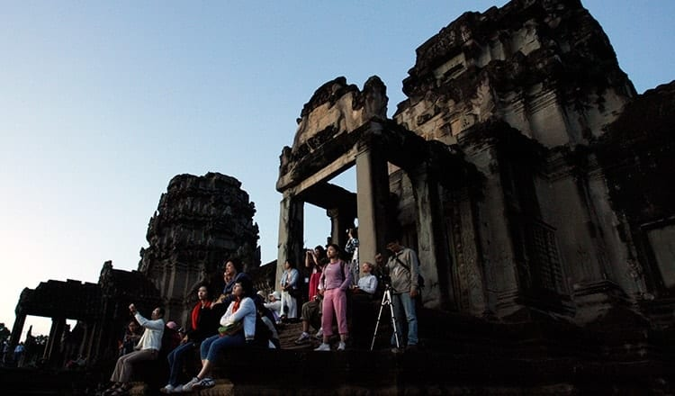Angkor revenue up, tourists amount down – Khmer Times