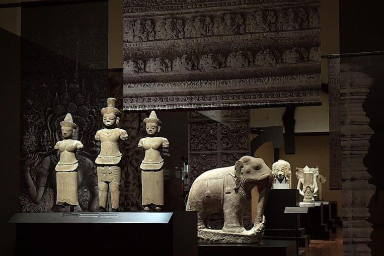 Splendour of Khmer art
